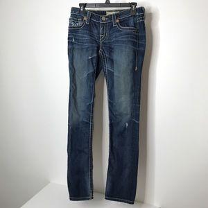 "Big Star Nico Skinny Jeans Waist 29"" Long Inseam"